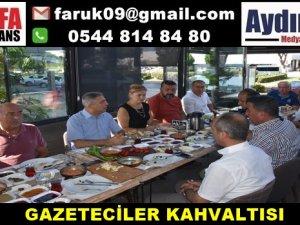 GAZETECİLER KAHVALTISI