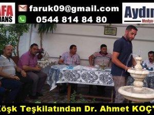 MHP Köşk Teşkilatından Dr. Ahmet KOÇ'u Andı