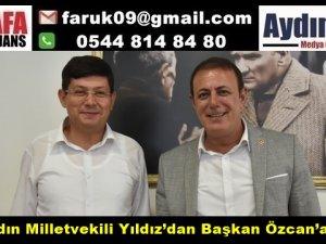 CHP Vekil, Yıldız'dan Başkan Özcan'a Ziyaret