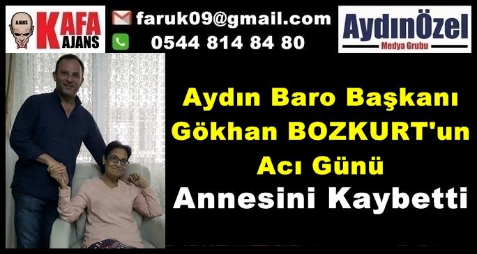 Aydın Baro Başkanı Gökhan BOZKURT'un Acı Günü