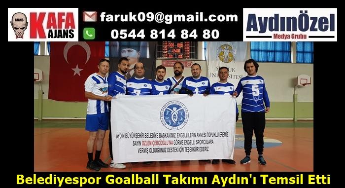 Belediyespor Goalball Takımı Aydın'ı Temsil Etti