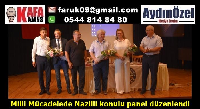 Milli Mücadelede Nazilli konulu panel düzenlendi