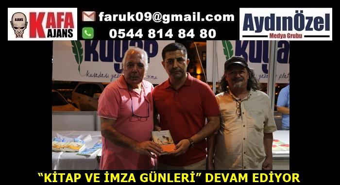 """""""KİTAP VE İMZA GÜNLERİ"""" DEVAM EDİYOR"""