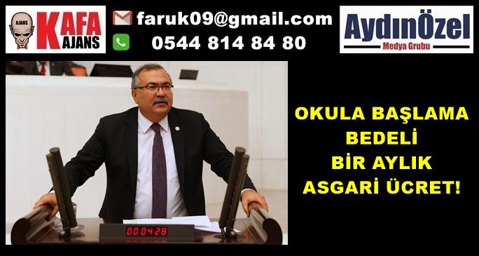 OKULA BAŞLAMA BEDELİ BİR AYLIK ASGARİ ÜCRET!