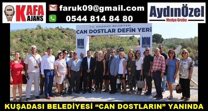 """KUŞADASI BELEDİYESİ """"CAN DOSTLARIN"""" YANINDA"""