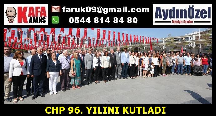 CHP 96. YILINI KUTLADI
