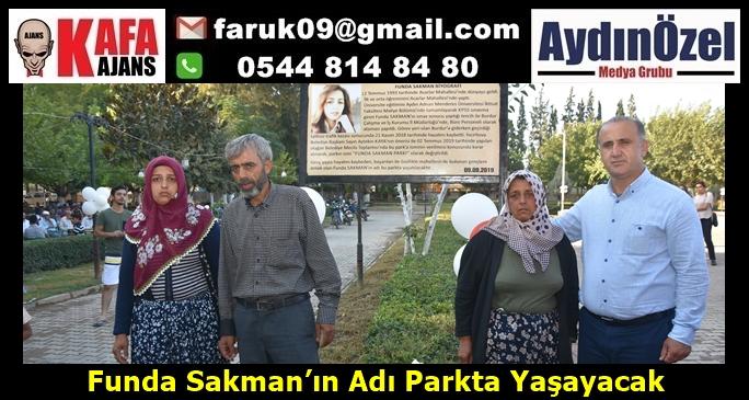 Funda Sakman'ın Adı Parkta Yaşayacak