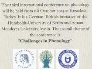 Türkiye'de İlk Uluslararası Phenology Kongresi