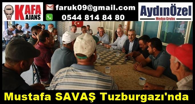 Mustafa SAVAŞ Tuzburgazı'nda