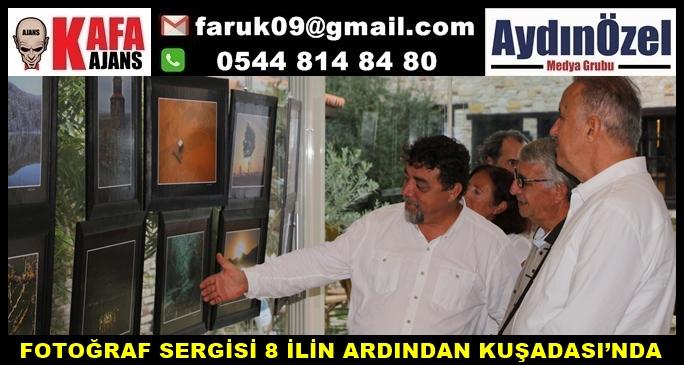 FOTOĞRAF SERGİSİ 8 İLİN ARDINDAN KUŞADASI'NDA