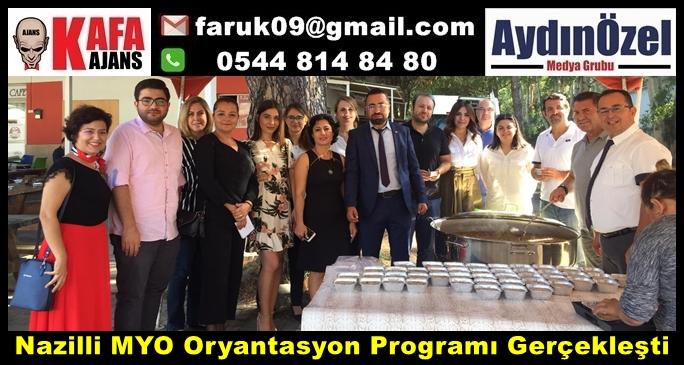 Nazilli MYO Oryantasyon Programı Gerçekleşti