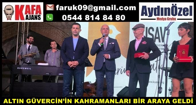 ALTIN GÜVERCİN'İN KAHRAMANLARI BİR ARAYA GELDİ