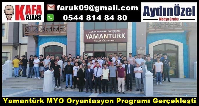 Yamantürk MYO Oryantasyon Programı Gerçekleşti