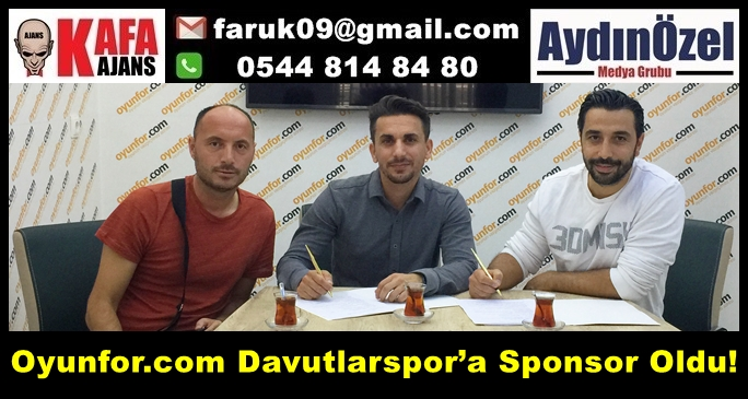 Oyunfor.com Davutlarspor'a Sponsor Oldu!