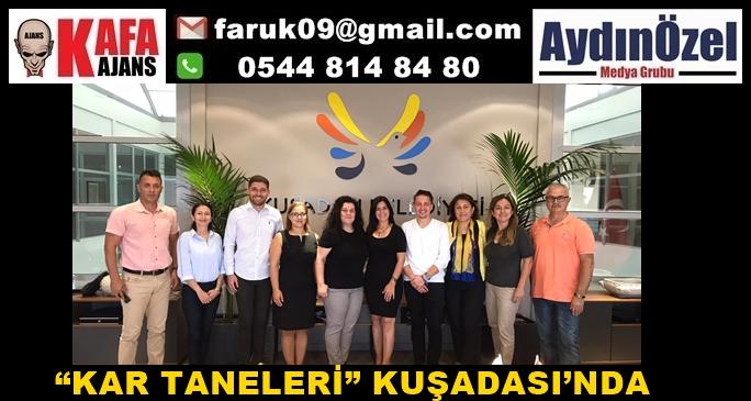 """""""KAR TANELERİ"""" KUŞADASI'NDA"""