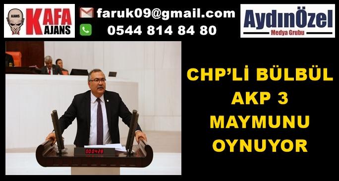 CHP'Lİ BÜLBÜL AKP 3 MAYMUNU OYNUYOR