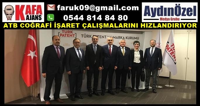 ATB COĞRAFİ İŞARET ÇALIŞMALARINI HIZLANDIRIYOR