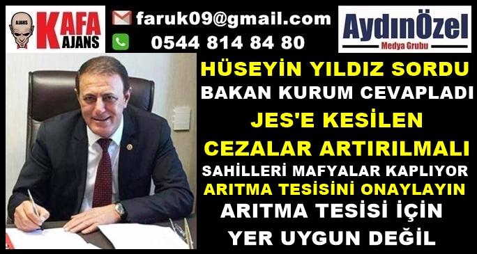 CHP'Lİ YILDIZ SORDU - BAKAN KURUM CEVAPLADI