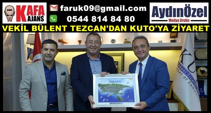 VEKİL BÜLENT TEZCAN'DAN KUTO'YA ZİYARET