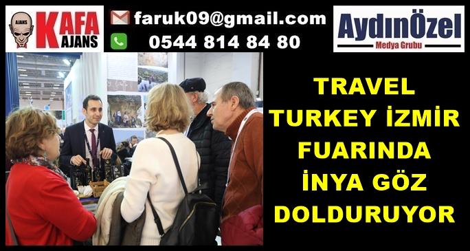 TRAVEL TURKEY İZMİR FUARINDA İNYA GÖZ DOLDURUYOR