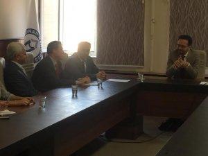 Rektör Prof. Dr. Cavit BİRCAN İktisat Fakültesinde Toplantı Yaptı