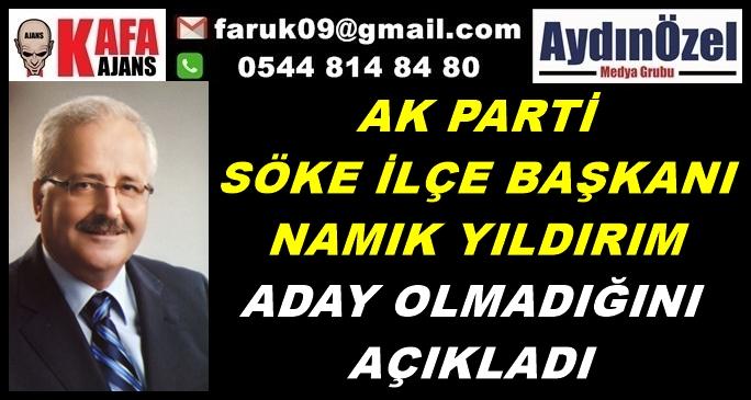 AK PARTİ'DE BAŞKANLAR DEĞİŞMEYE BAŞLADI
