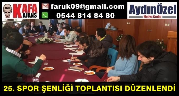 25. SPOR ŞENLİĞİ TOPLANTISI DÜZENLENDİ