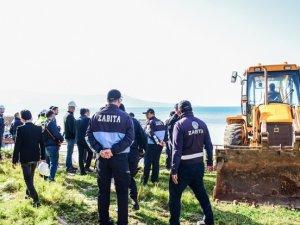DİDİM'DE İŞGALLER ORTADAN KALDIRILIYOR