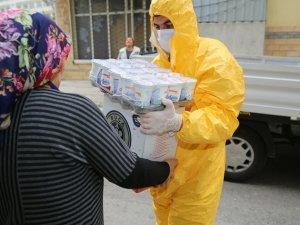 Buca Belediyesi'nden ihtiyaç sahiplerine koronavirüs desteği