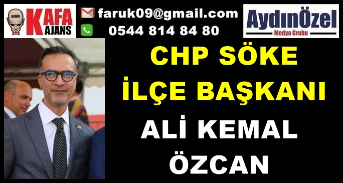 CHP Söke İlçe Başkanı Ali Kemal ÖZCAN basın Açıklaması..