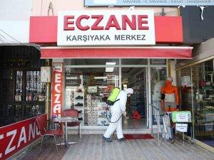 Karşıyaka'da salgınla mücadele atağı: Dip bucak dezenfeksiyon!