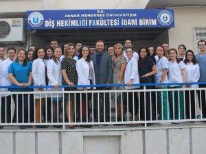 Dünya Diş Hekimliği Günü ADÜ'de Kutlandı