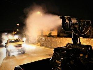 Başkan Kılıç'tan sahada dezenfekte raporu 180 km² ilaçlandı