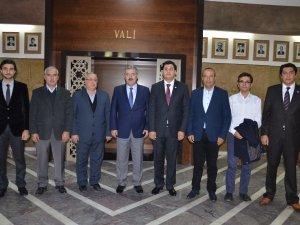 ASTİM OSB Yeni Yönetimi Vali  Erol Ayyıldız'ı Ziyaret Etti