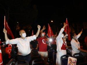 DİDİM'DE FENER ALAYINA HALKTAN BÜYÜK DESTEK