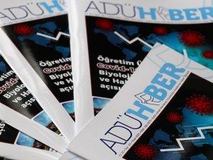 ADÜ Haber Dergisi Covid-19 Gündemi İle Nisan Sayısı Çıktı