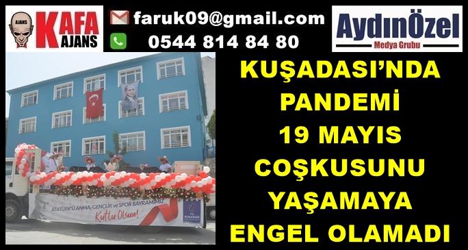 KUŞADASI'NDA 19 MAYIS COŞKUSU