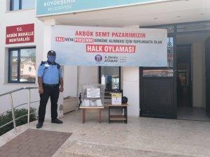 AKBÜK'DE DEMOKRASİ ÖRNEĞİ SERGİLENDİ