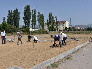 Muammer Aksoy Mahallesi yeşil alana kavuşuyor