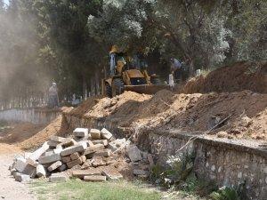 Nazilli Belediyesi İsabeyli'de çalışmalarını sürdürüyor