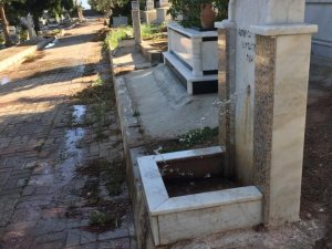Kemer Mezarlığı'nda Akıl Almaz Olay