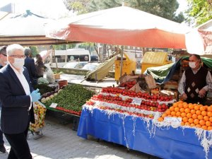 Ödemiş'te pazar kurulacak günlere sınav düzenlemesi