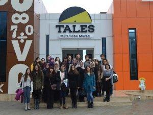 Dokuz Eylül Üniversitesi Tales Matematik Müzesi'ni Ziyaret Etti