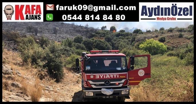Büyükşehir Belediyesi'nden Sarıkemer'de Çıkan Orman Yangınına Müdahale