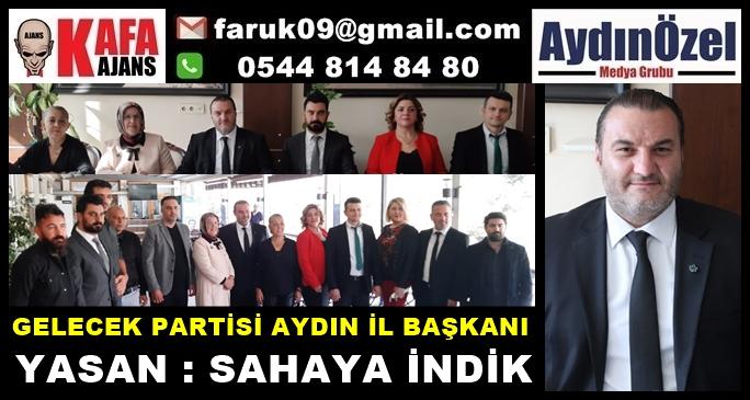 GELECEK PARTİSİ İL BAŞKANI YASAN, BASIN İLE BİRARAYA GELDİ