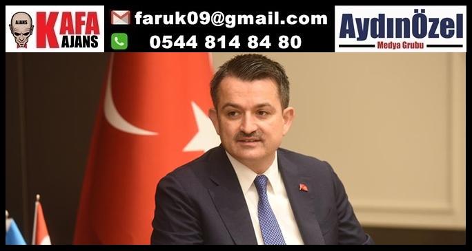 TARIM BAKANI PAKDEMİRLİ'NİN AYDIN PROGRAMI BELLİ OLDU