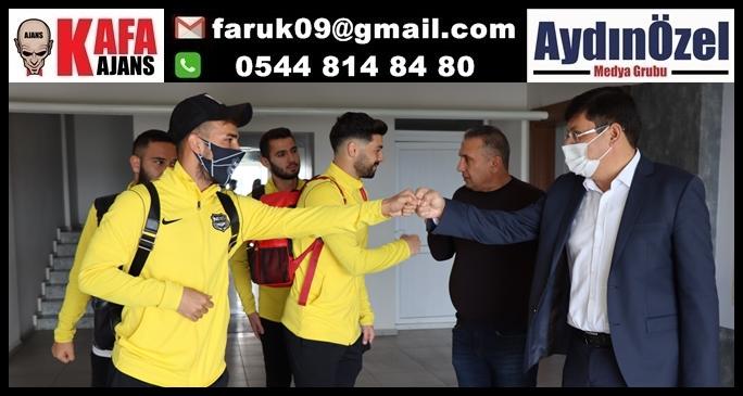Başkan Özcan'dan şehrin takımına tam destek