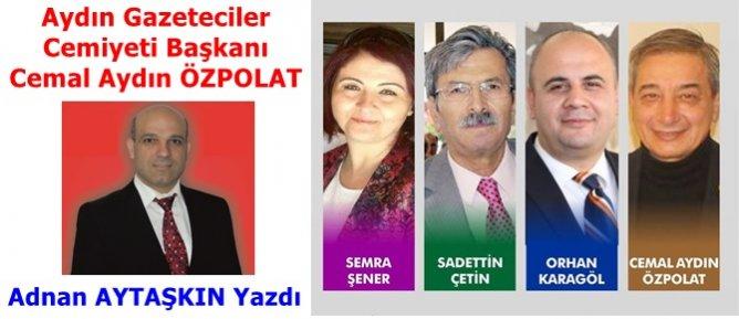 AGC Başkanı Cemal Aydın ÖZPOLAT