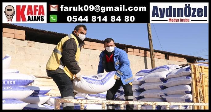 Büyükşehir'den 152,5 ton yem desteği
