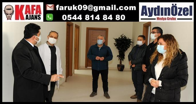 Rektör GETAT ve MEDİKO'yu Yeni Binasında Ziyaret Etti